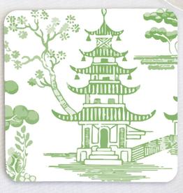 Pagoda Paper LLC Green Pagoda Paper Coasters