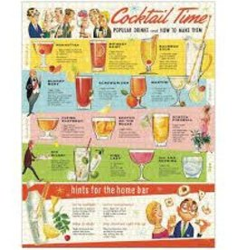 Cavallini Cocktails 1000 Piece Puzzle
