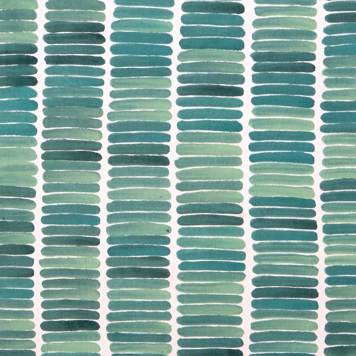 Framed Rain Silk Panel, Green