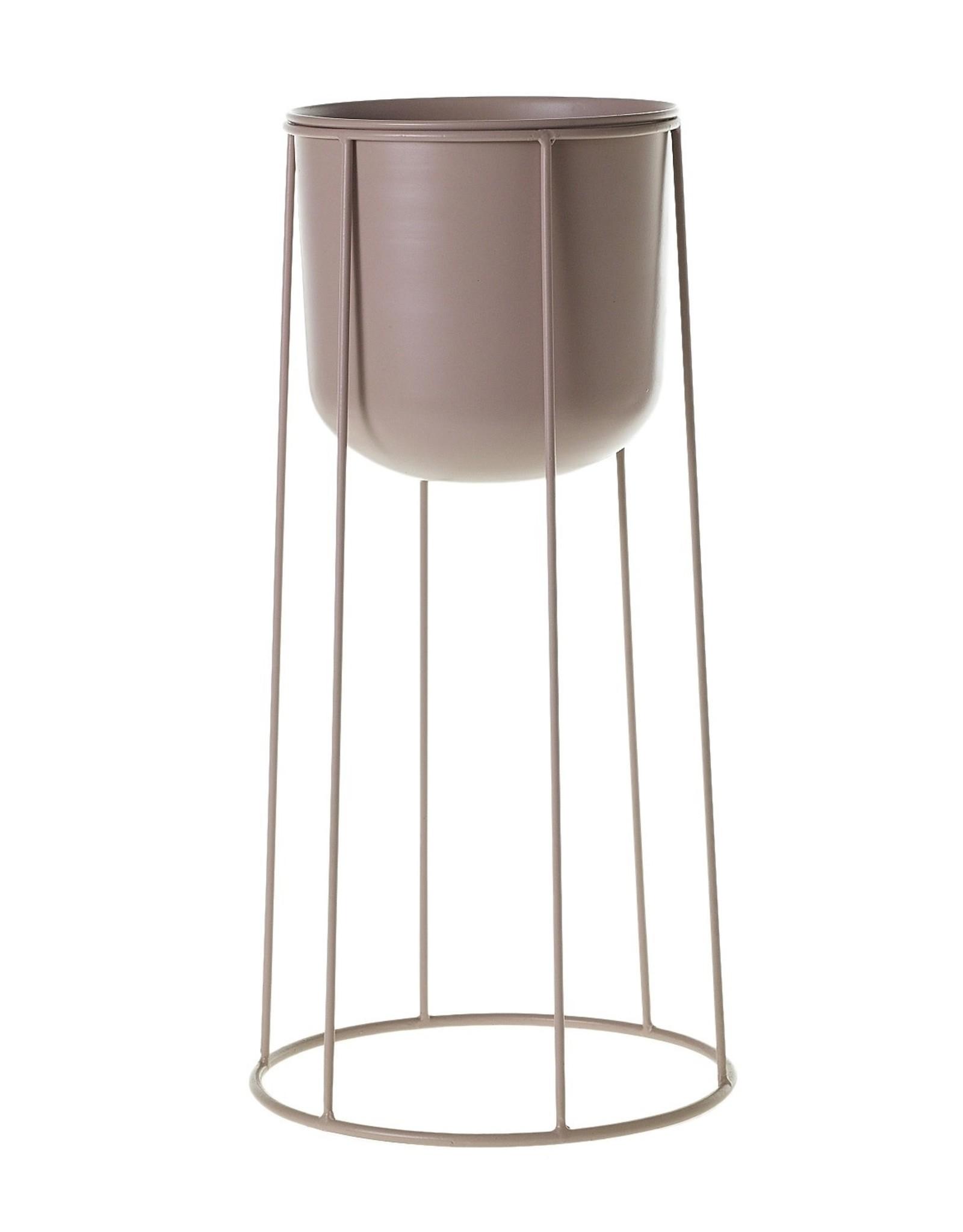 Curio Contemporary blush plant stand