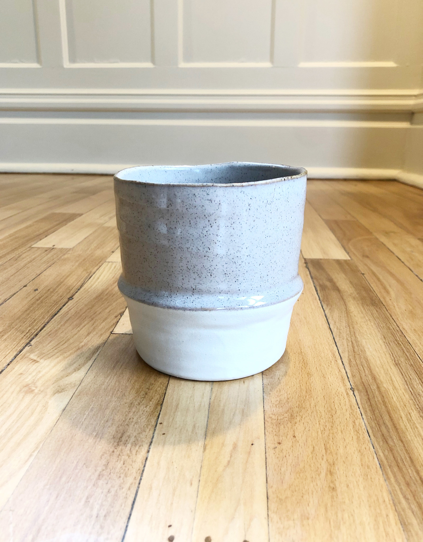 Curio Ridgeline Ceramic Pot