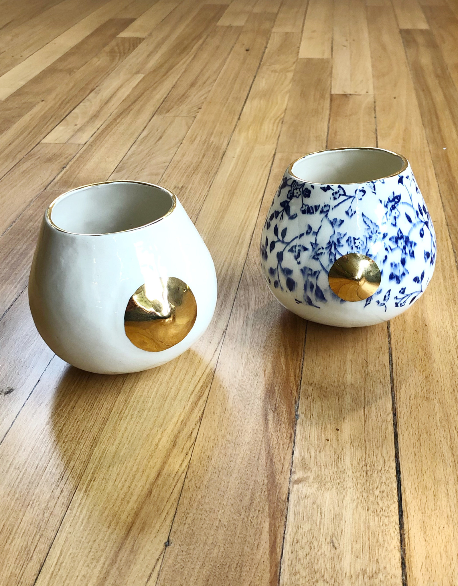 Nip Cup with Gold detail