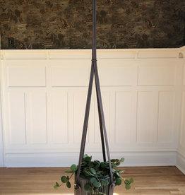 Curio Leather Plant Pot Hanger