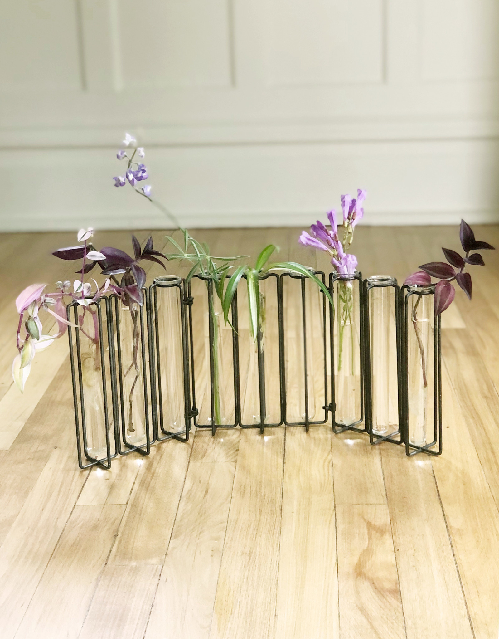 Curio Test Tube Articulating Vase Collection