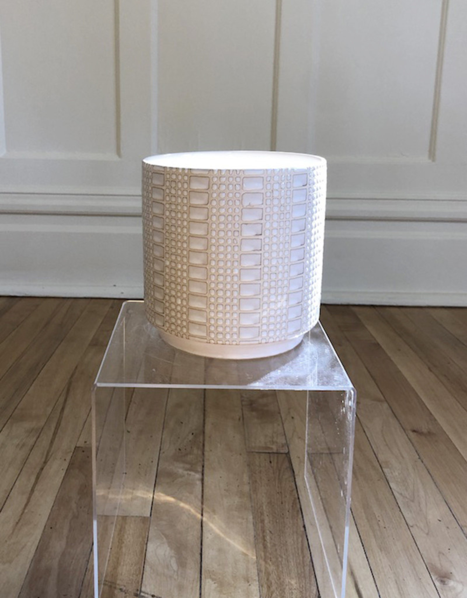 Curio Quilted Pot