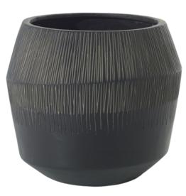 Curio Etched Indoor/Outdoor pot