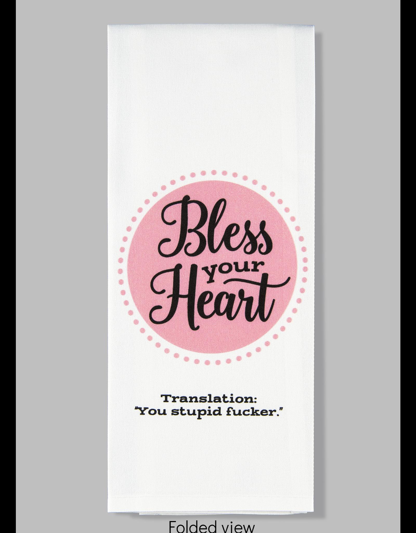 Dish Towel (Premium) - Bless Your Heart