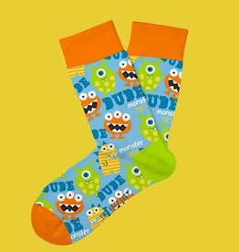 DM Merchandising Kids Socks - Monster Mash (7-10 Year)