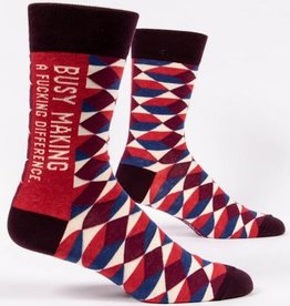 Blue Q Mens Socks - Making a Difference