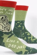 Mens Socks - Ain't No Bad Joke, Like A Dad Joke