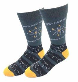 Mens Socks - Never Trust Atoms