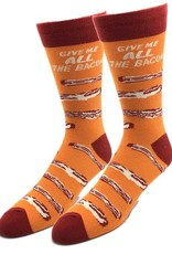 Mens Socks - Give Me All The Bacon