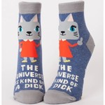Socks (Womens) (Ankle) - Universe Is A Dick
