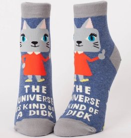 Womens Socks - Universe Is A Dick (Ankle)