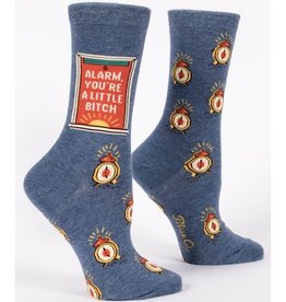 Womens Socks - Alarm Bitch