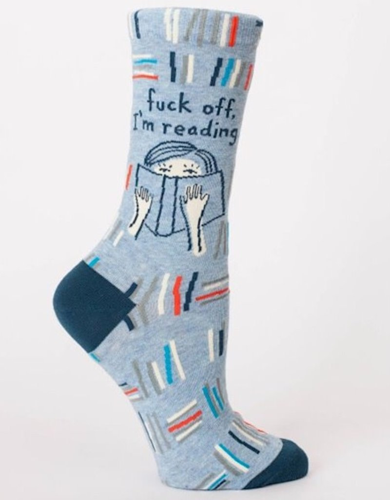 Blue Q Womens Socks - Fuck Off, I'm Reading