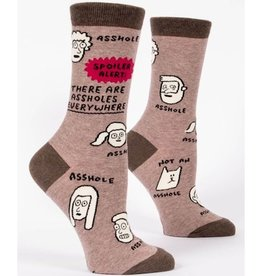 Womens Socks - Assholes Everywhere