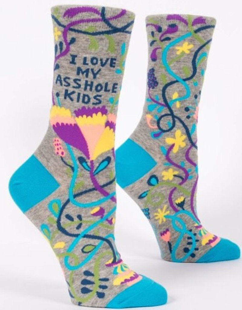 Blue Q Womens Socks - Love My Asshole Kids