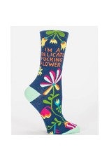 Socks (Womens) - Delicate Fucking Flower
