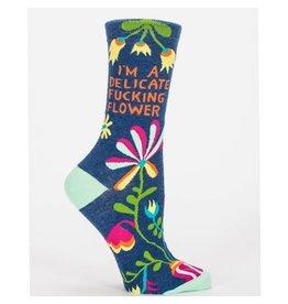 Socks (Womens) - Delicate Fucking Flower