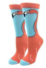 Socks (Womens) - Lady Flamingo