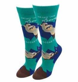 Womens Socks - Sloth