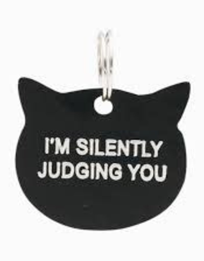 Cat Tag -  I'm Silently Judging You