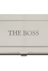 Business Card Holder - The Boss