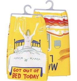 Tea Towel - Got Out Of Bed Today