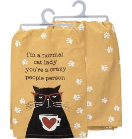 Tea Towel - I'm A Normal Cat Lady, You're A Crazy People Person