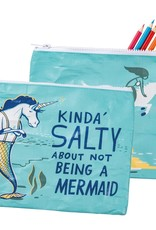Zipper Pouch - Kinda' Salty About Not Being A Mermaid