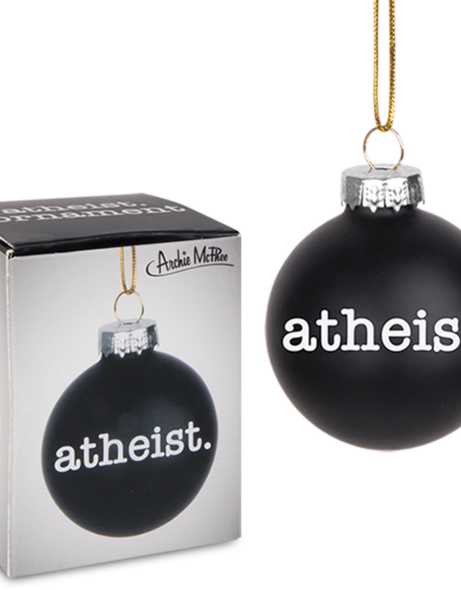 Ornament - Atheist mini bulb