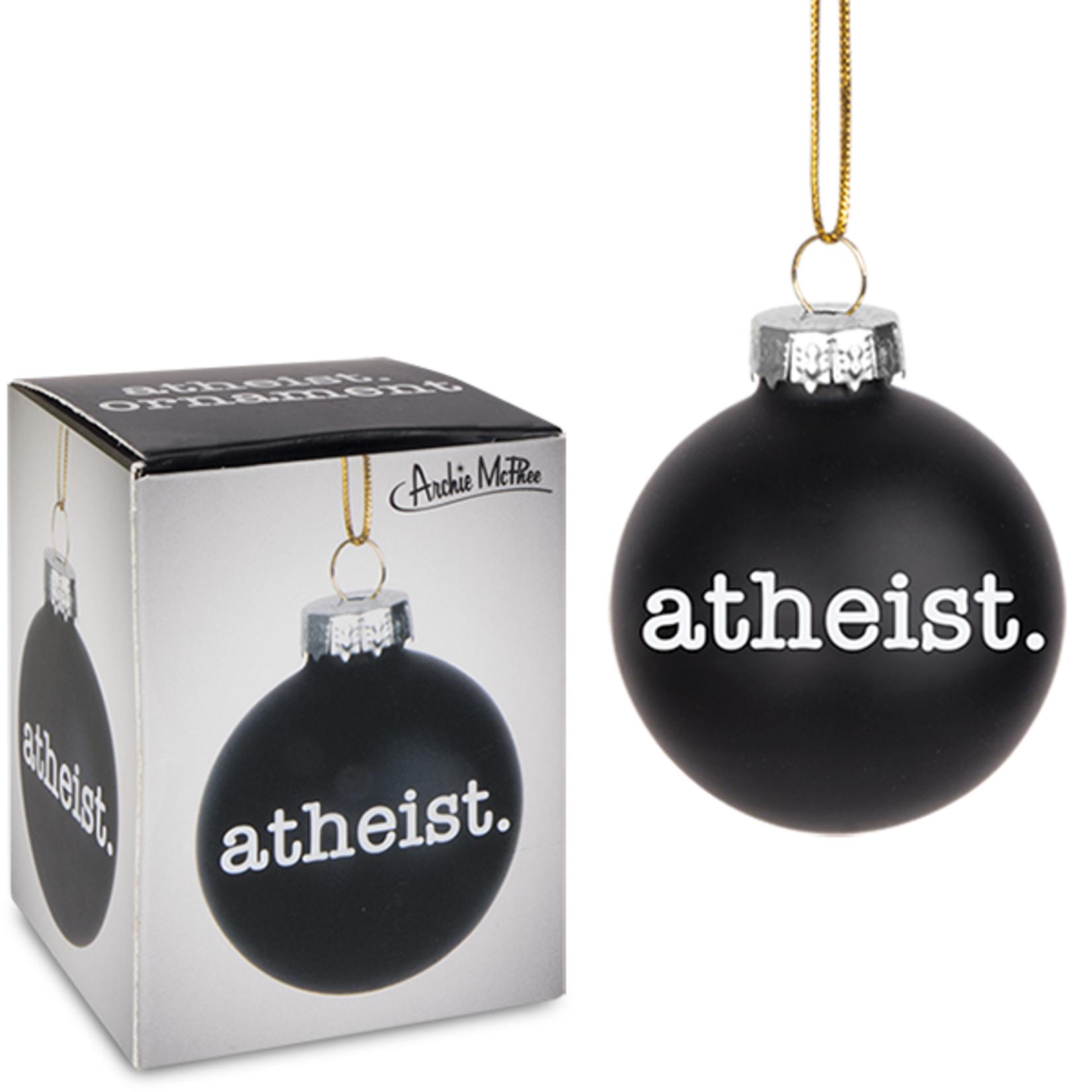Ornament - Atheist (Mini Bulb)