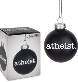 Ornament - Atheist mini bulb