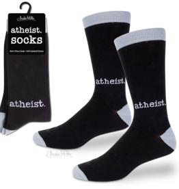 Men's Socks - Atheist (Black)