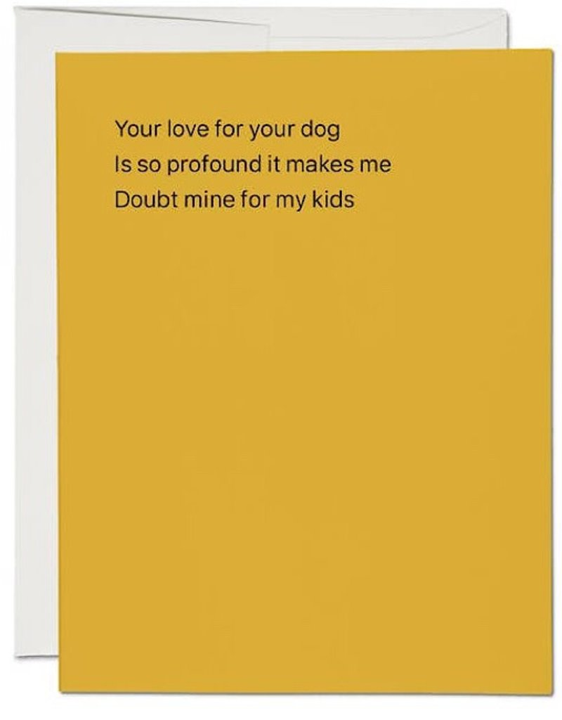 Card - Love for Your Dog