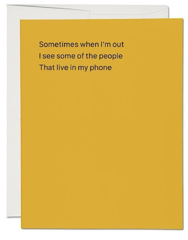 Card - People in My Phone