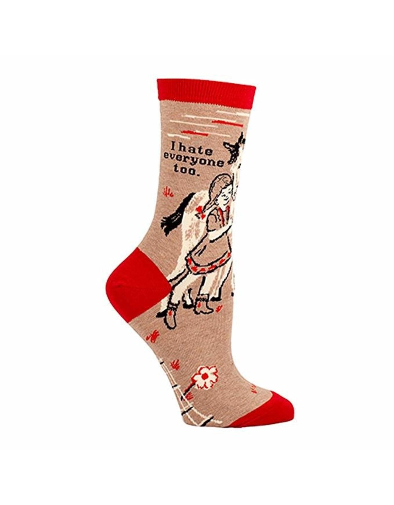 Socks (Womens) - I Hate Everyone Too