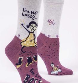 Womens Socks - I'm Not Bossy, I'm The Boss