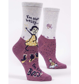 Socks (Womens) - I'm Not Bossy, I'm The Boss