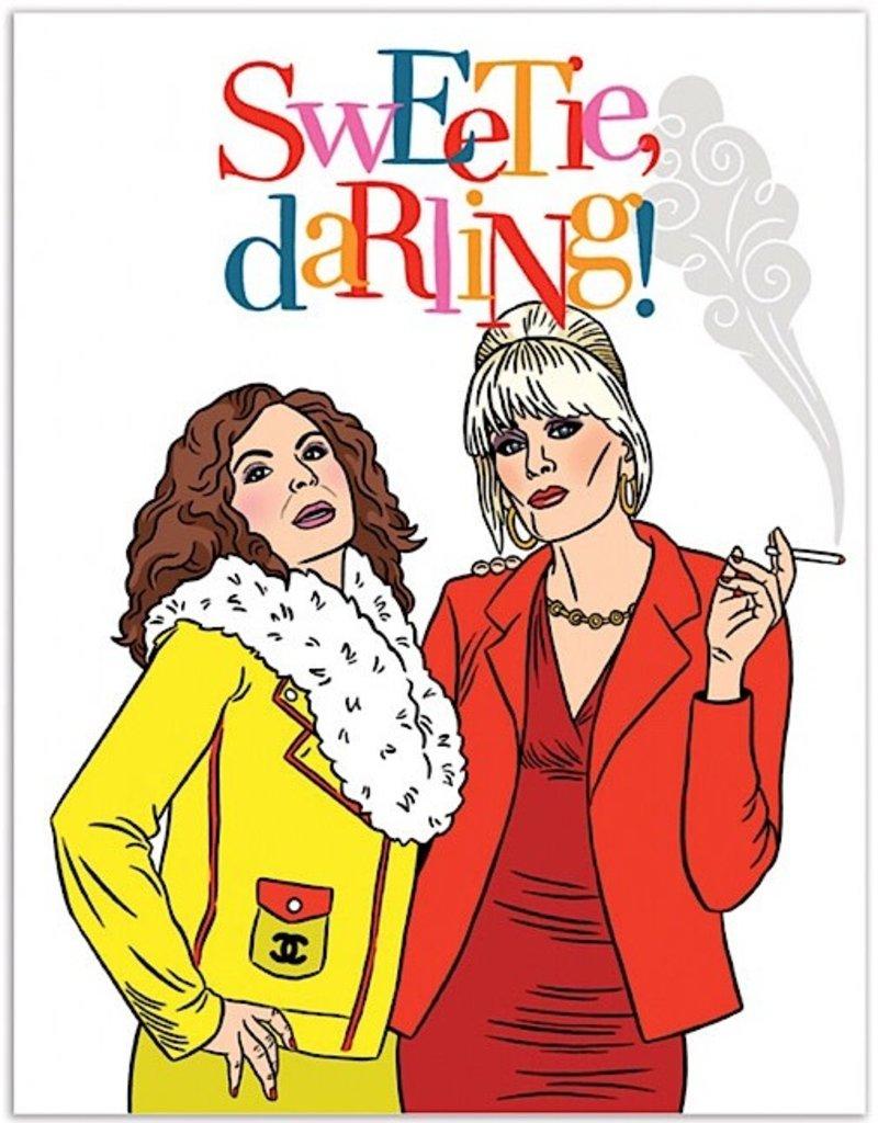 Card - AbFab Sweetie Darling