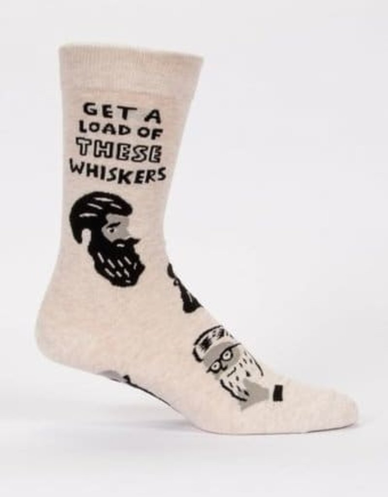 Mens Socks - Get A Load Of These Whiskers