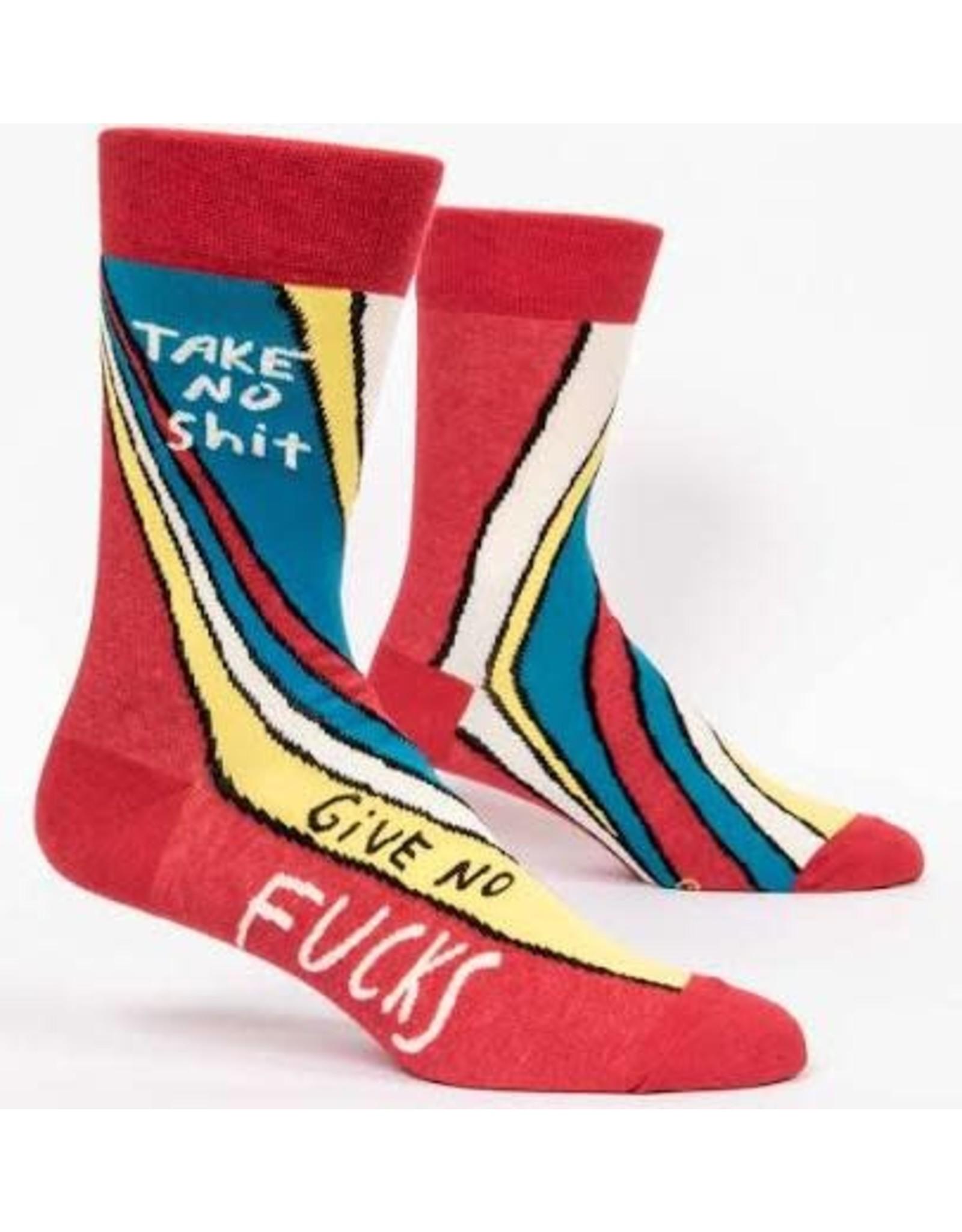 Socks (Mens)  - Take No Shit, Give No Fucks