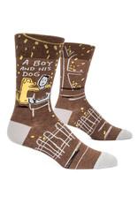Socks (Mens)  - A Boy And His Dog