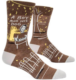 Socks (Mens)  - A Boy And His Dog