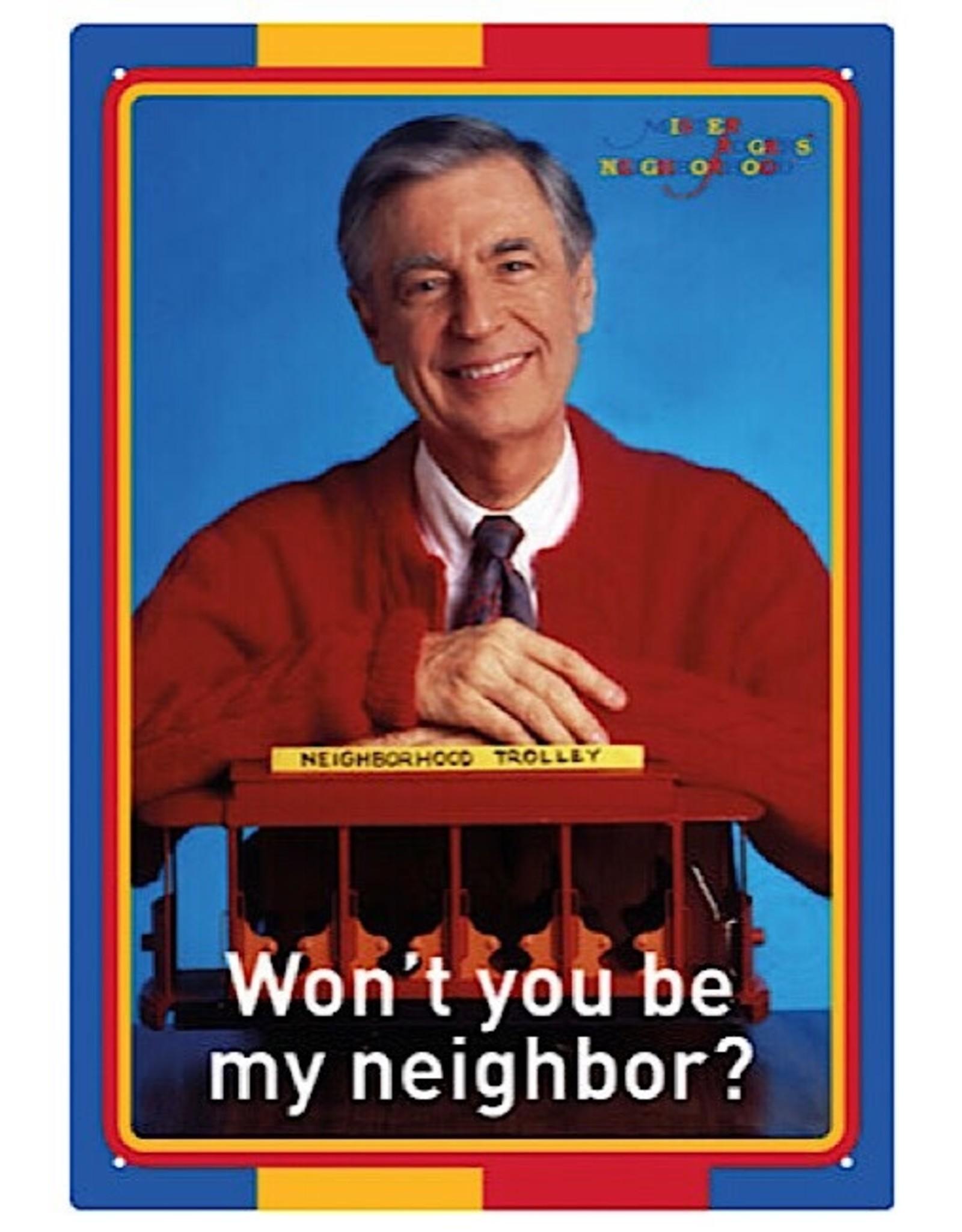 Sign (Wall) - Mr Rogers Neighbor