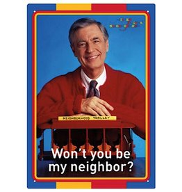 Sign - Mr Rogers Neighbor