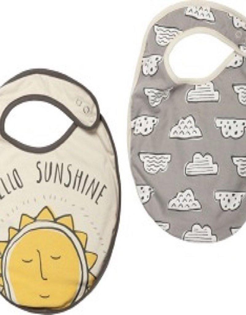 Baby Bib - Hello Sunshine (2Pc)