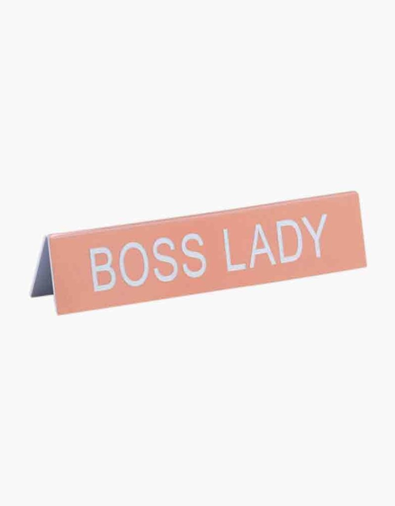Desk Sign - Boss Lady