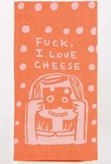 Dish Towel (Premium) - Fuck, I Love Cheese
